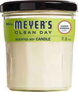 Mrs Meyers Soy Candle