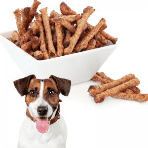 Twiglets and a Jack Russell Terrier