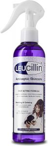 Spray bottle of antiseptic by Leucillin
