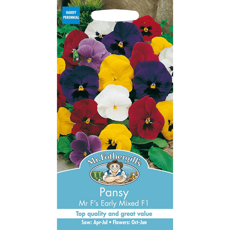 Pansy seed pack